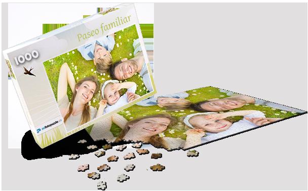Caja de Puzzle Primavera