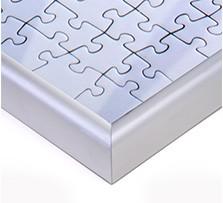 Marco para Puzzle personalizado; Detalle vista de esquina