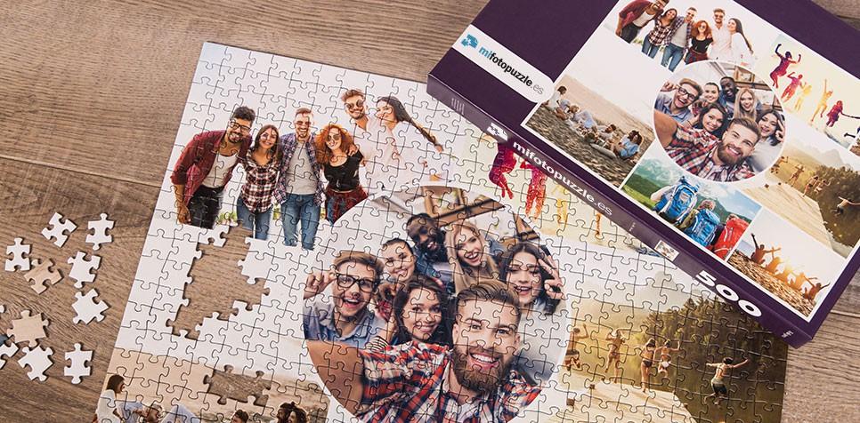 Fotopuzzle Collage artístico