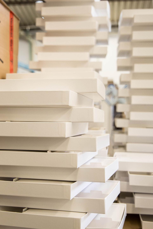 Cajas prefabricadas