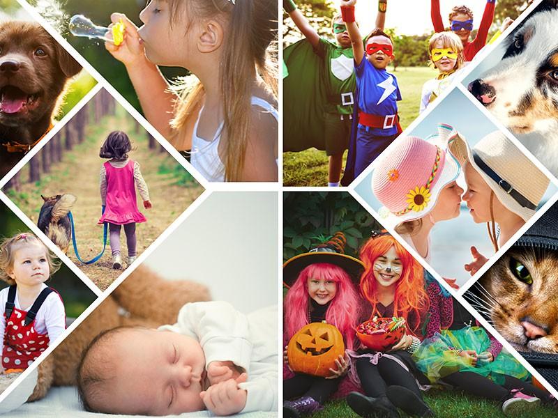 Fotopuzzle Collage artístico 10 Fotos