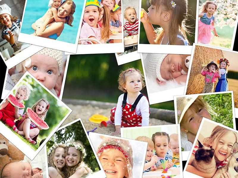 Fotopuzzle Collage apilado 17 Fotos