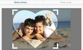 Puzzle personalizado 600 piezas, diseñar Corazón