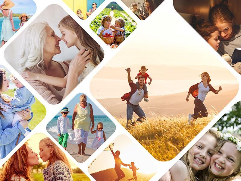 Fotopuzzle Collage artístico 12 Fotos