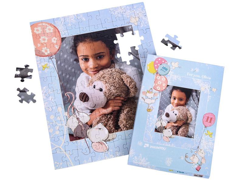 puzzleYOU - caja individual para 100 piezas