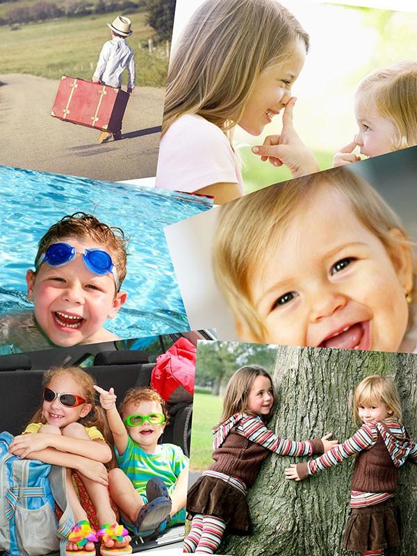 Fotopuzzle Collage apilado 6 Fotos