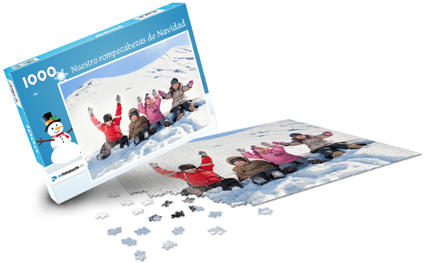 Caja de Puzzle Navidad II