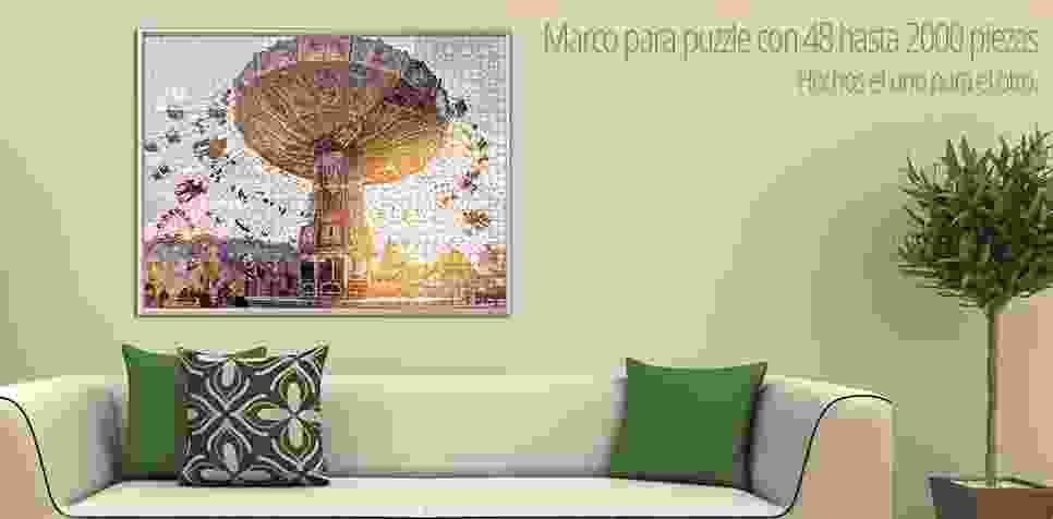 Marco para Puzzle personalizado de 48 y hasta 2000 piezas