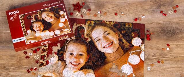Diseñe su propio puzzle personalizzato per il Natale