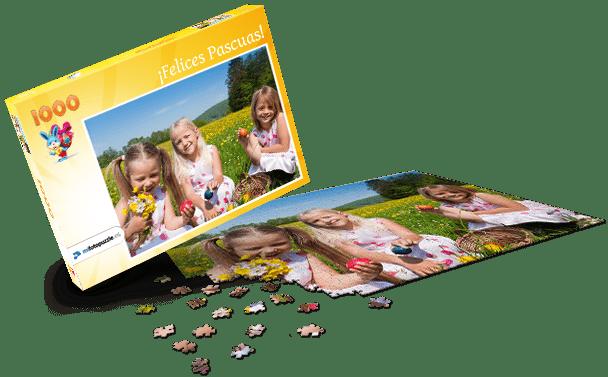 Caja de Puzzle Pascua