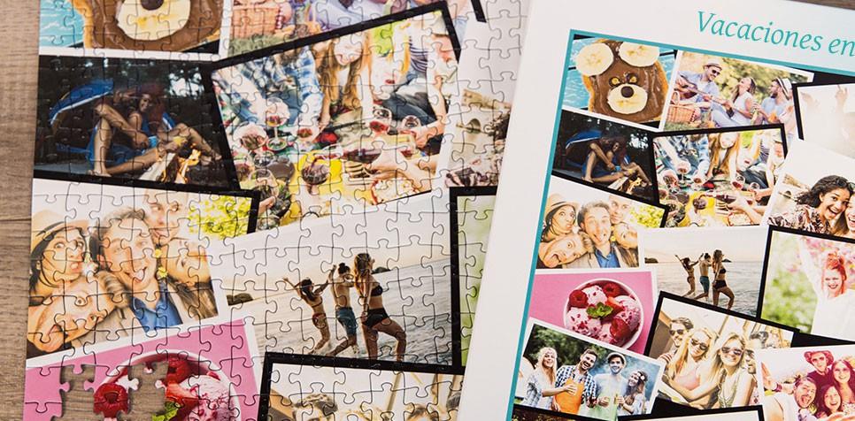 Fotopuzzle Collage apilado