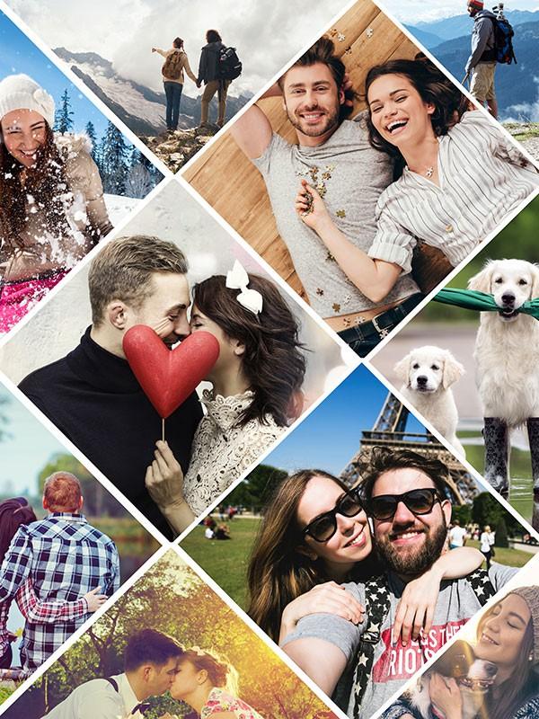 Fotopuzzle Collage artístico 11 Fotos
