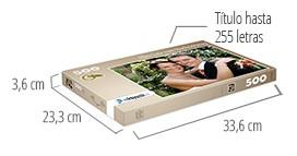 Tamaño de la caja del Puzzle - Puzzle personalizado 500 piezas