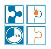 Instrucciones de uso del pegamento para puzzle