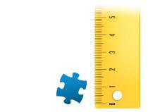 Proporción del tamaño de la pieza, Puzzle personalizado de 2000 piezas