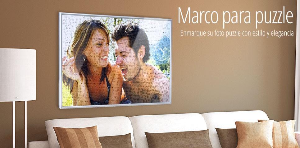 El Marco perfecto para su Puzzle personalizado