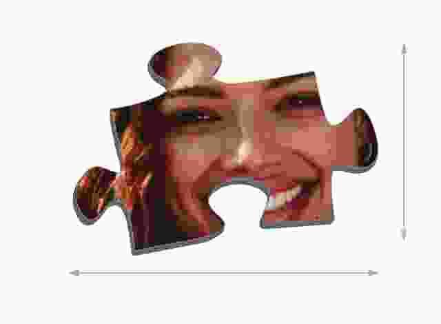 Tamaño de las piezas