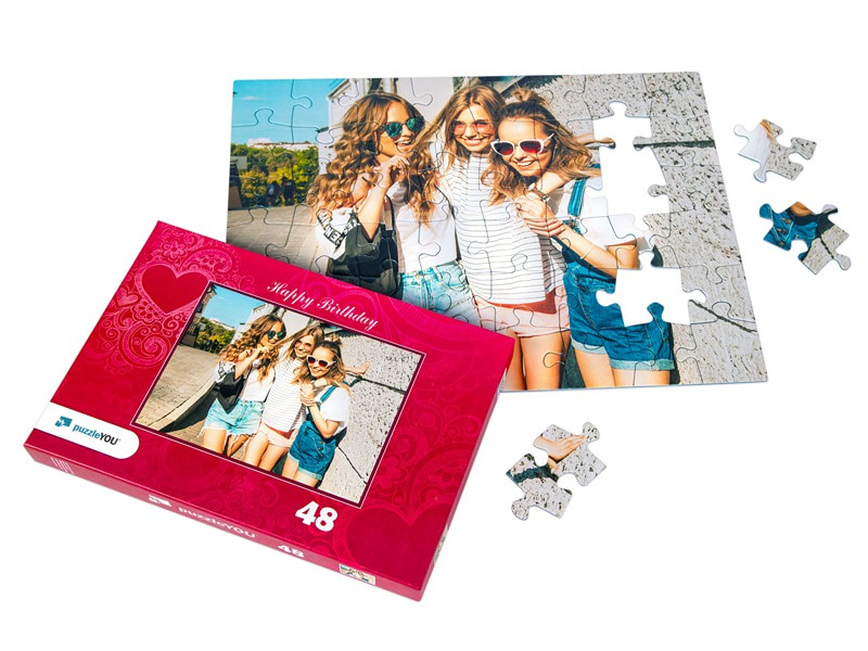 puzzleYOU - caja individual para 48 piezas