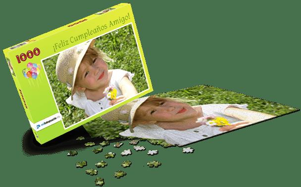 Caja de Puzzle Cumpleaños de Niños